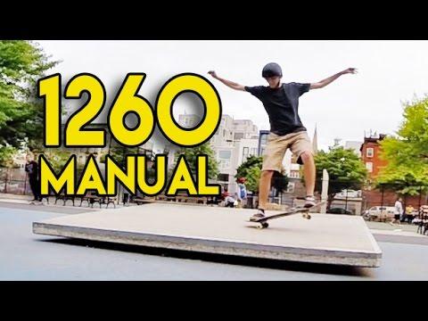 Stupidest Manual Tricks Ever: 1260 Manual