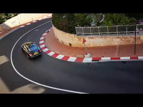 Monaco the city of racing