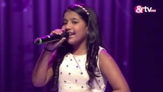 shreya basu ek pyar ka nagma hai liveshows episode 23 the voice india kids