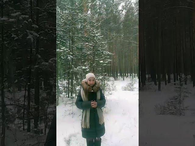 Изображение предпросмотра прочтения – МаринаКалгина читает произведение «Пороша (Еду. Тихо. Слышны звоны…)» С.А.Есенина