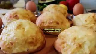 Alman ekmeği  peynirli Poğaça, külçe ekmek
