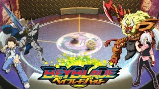 Spryzen vs Odax | Shu Kurenai vs Orochi Ginba | Beyblade Burst Battle [Deutsch] Zera