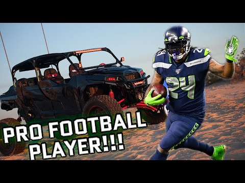 Marshawn Lynch gets wild with Diesel Brothers