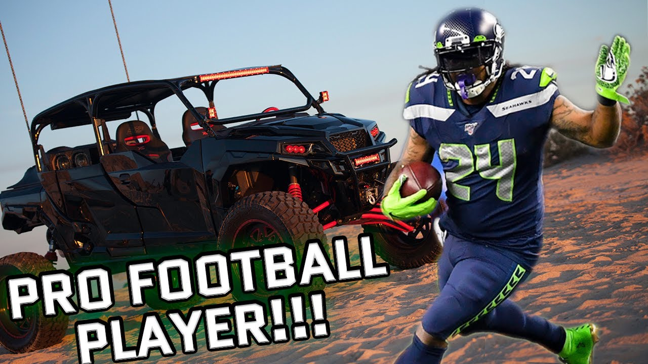 marshawn lynch gets wild with diesel brothers youtube. Black Bedroom Furniture Sets. Home Design Ideas