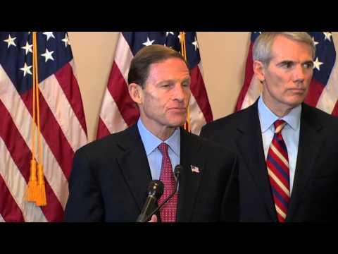 Senator Blumenthal Kicks Off the Senate Caucus to End Human Trafficking