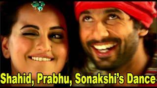 Gandi Baat Song Launch | Prabhu Deva Dance with Shahid Kapoor | R...Rajkumar | Dance Performance