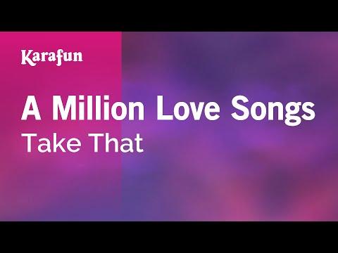 Karaoke A Million Love Songs - Take That *