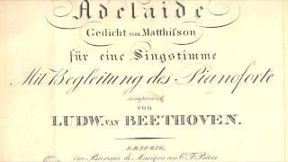 """Ludwig van Beethoven: """"Adelaide"""" op. 46"""