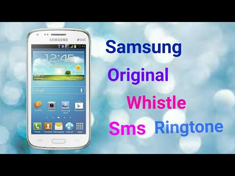 sonnerie sms samsung whistle