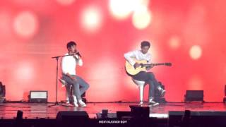 Download Video 151010 EXO-Love concert - Boyfriend(acoustic ver.) D.O. with Chanyeol MP3 3GP MP4
