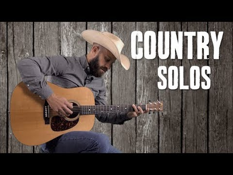 """Country Blues Guitar Solos Over """"I'm From the Country"""" - Guitar Lesson"""