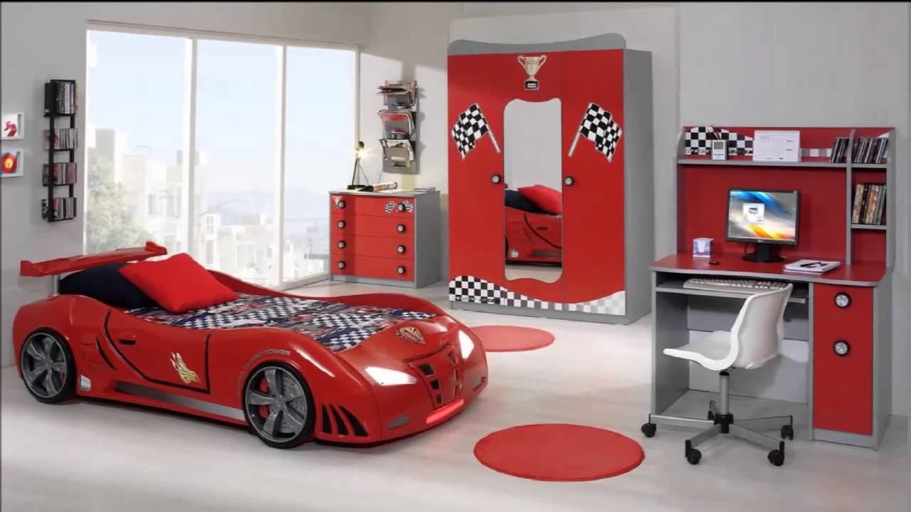 Camere per ragazzi moderne - YouTube