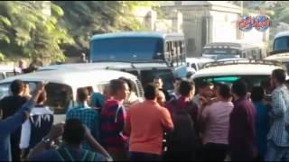 أخبار اليوم | مرور الجيزة ينظم سيارات السرفيس لفك حالة الشلل بالميدان