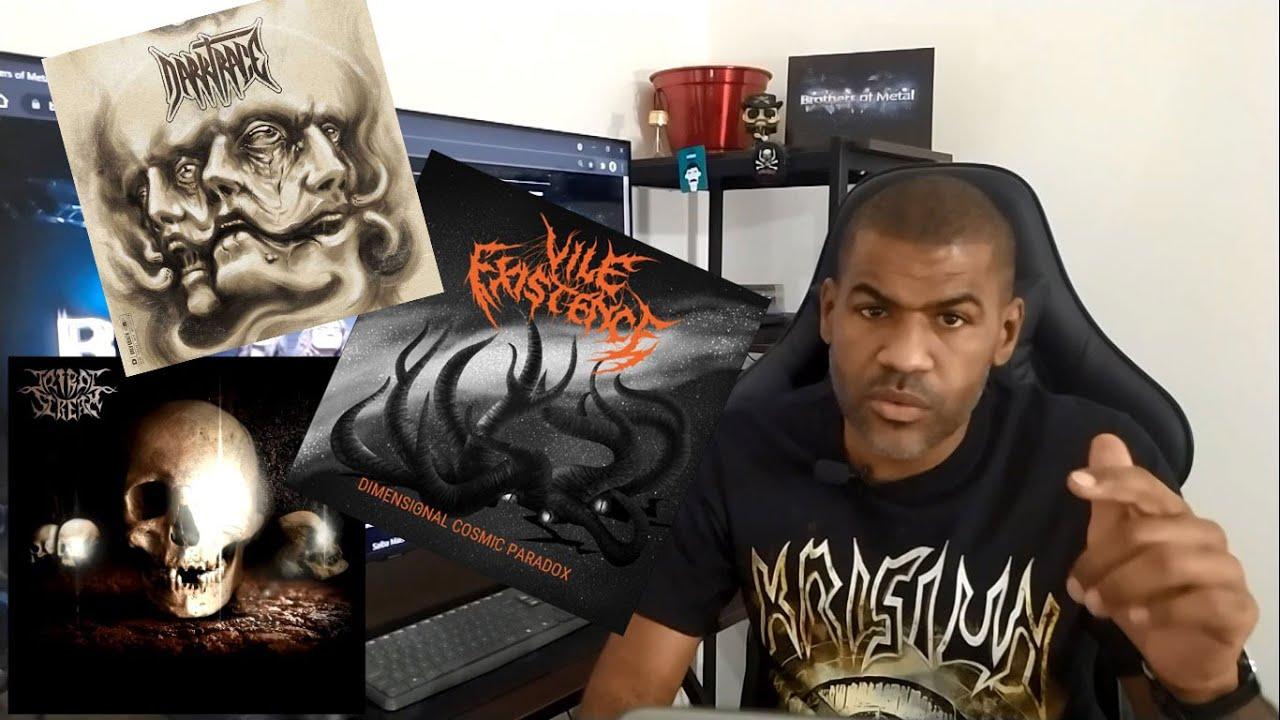 Tribal Scream, Vile existence, Darktrace - Brothers of Metal 085