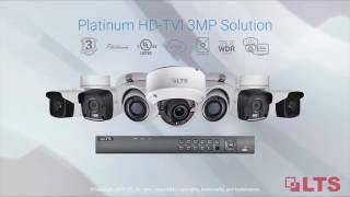 Next Generation Platinum HD-TVI 3.0 Solutions at LTS
