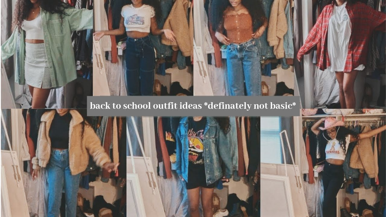 [VIDEO] - trying on all my new back to school clothes (also outfit ideas) 7