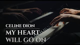 Gambar cover CELINE DION - MY HEART WILL GO ON [OST Titanic] (best piano cover)