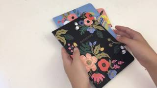 Back to School Giveaways - Day 6 - Rifle Paper Co Notebooks
