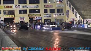 MAZDA ROTARY 13B TURBO vs FORD V8 TURBO