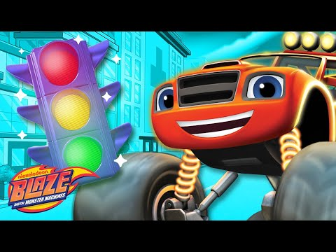 Learn About Speed w/ Blaze | Truck Talk #3 | Blaze and the Monster Machines