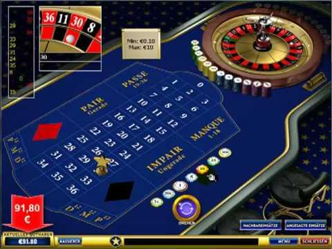 Roulette Winner System 62 Euro in 8 Min ECHTGELDMODUS Video! von YouTube · HD · Dauer:  8 Minuten 5 Sekunden  · 601 Aufrufe · hochgeladen am 24/10/2015 · hochgeladen von MegaSystem.biz