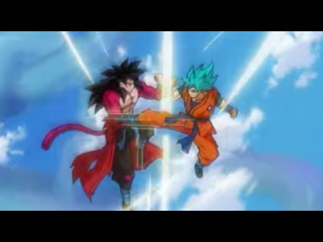 GOKÛ vs GOKÛ – SSJ4 vs SSJB – DRAGON BALL HEROES Power Levels [God Scale]