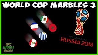 FIFA 2018 World Cup Marble Race - Quarter-Finals