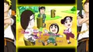 naruto sd rock lee ending 1