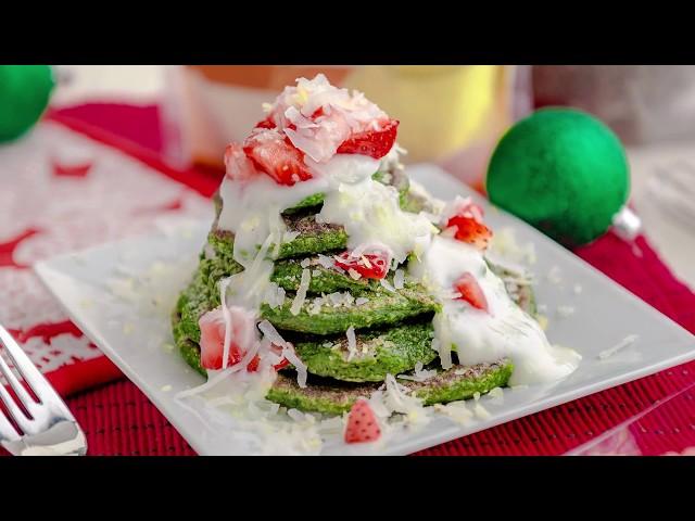 Pancakes de Espinacas - Andrea Zambrana - Goya Fit