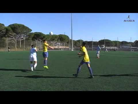 """ALSACA2015 Balón de Cádiz C.F. """"B"""" - C.D. Salesianos Algeciras 1er Tiempo Jornada 12 Temp 2015-16"""