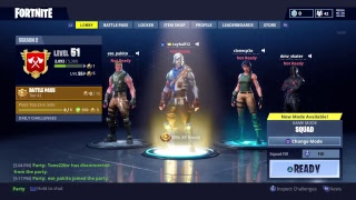 Playing Fortnite with clone and dmv getting Ws