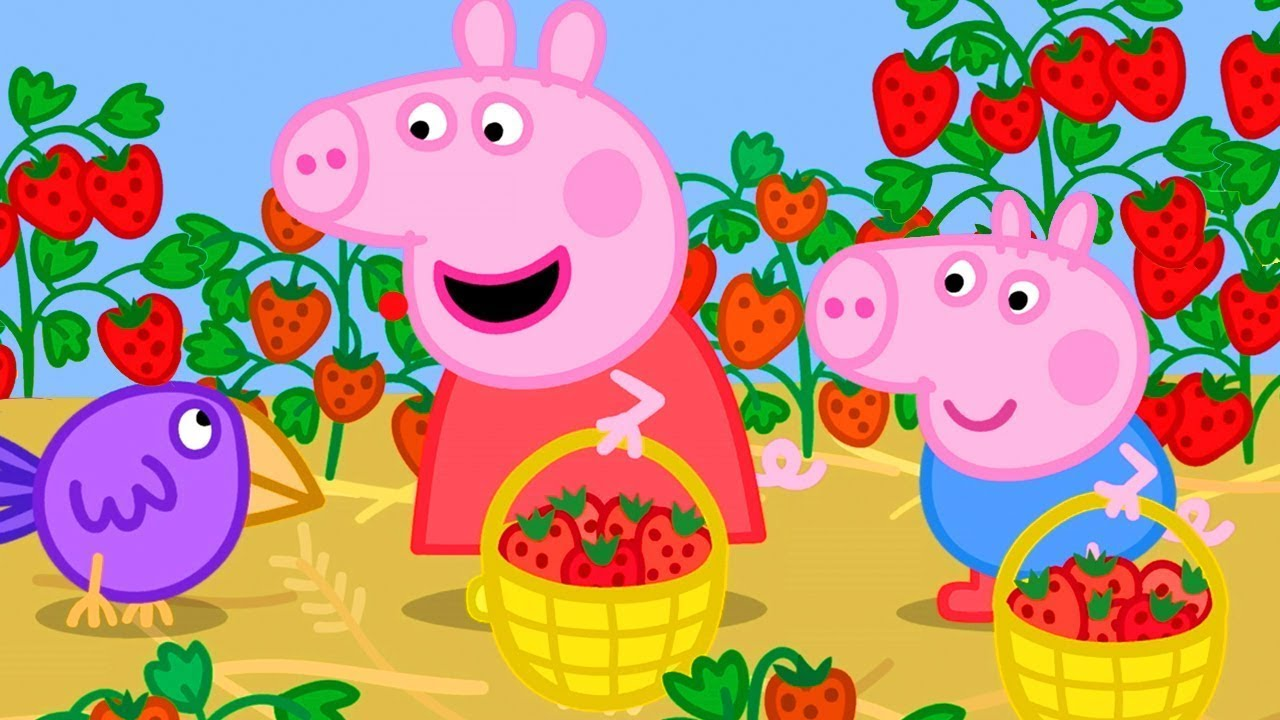 Download Peppa Pig Goes to the Strawberry Farm   Peppa Pig Official Channel