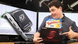 AVerMedia Live Gamer HD Unbox & in-depth Review w/ XSplit, OBS, RECentral, HDMI, DVI, etc