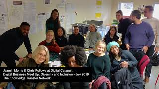 Audio recording, Beta Society at Digital Catapult, Digital Business Meet Up, Diversity & Inclusion