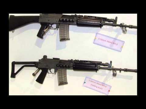 Latest arms insaas rifle