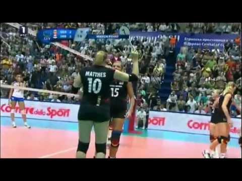 Anne Matthes' wrong final serve