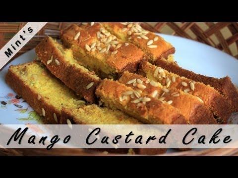 Custard Cake Recipe In Hindi