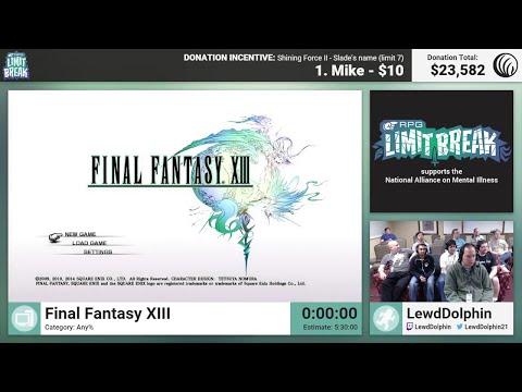 Final Fantasy XIII by LewdDolphin (RPG Limit Break 2016 Part 18)