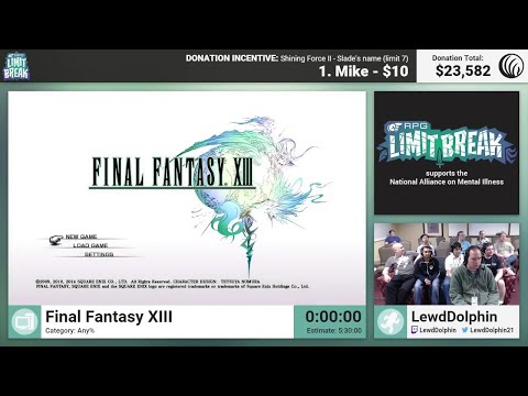Final Fantasy XIII By LewdDolphin (RPG Limit Break 2016 Part 18)