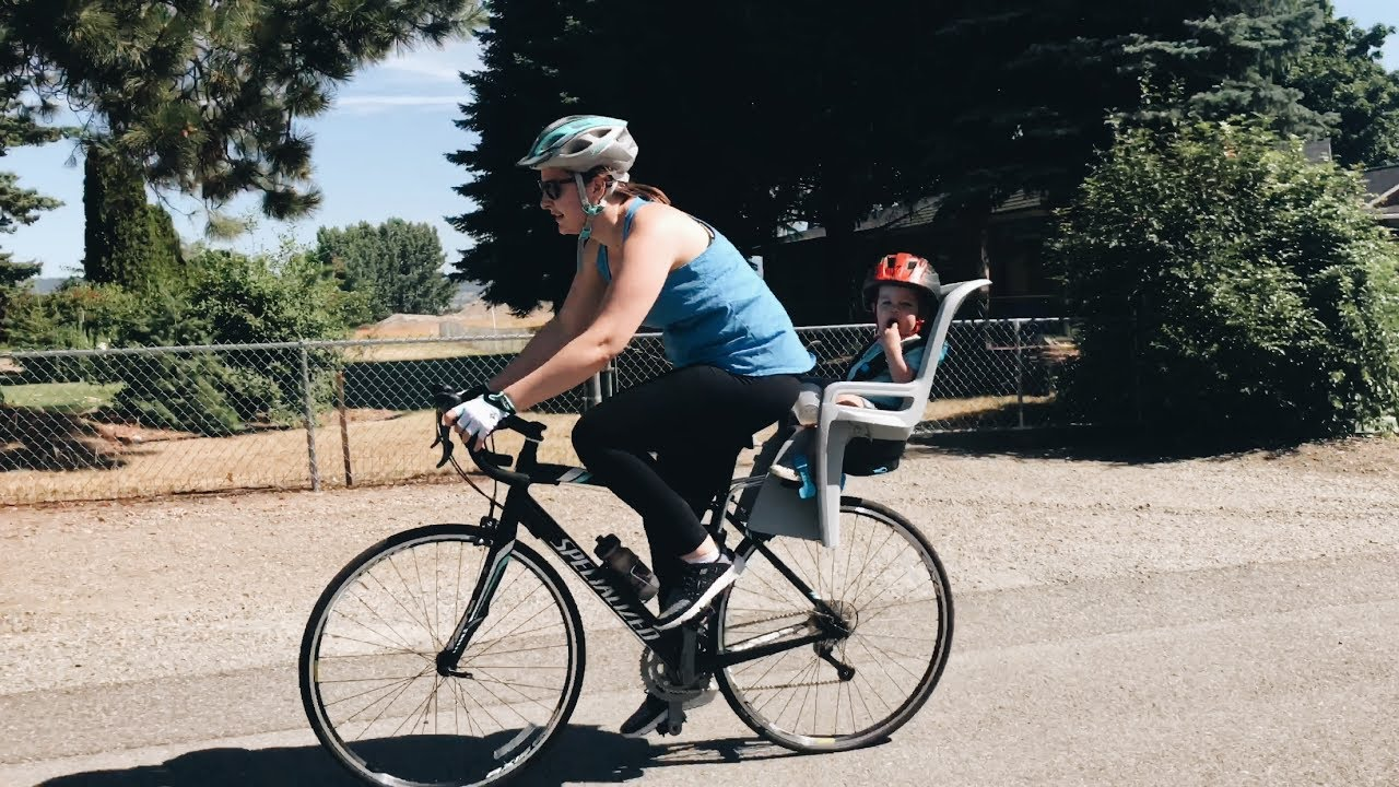 Thule Ridealong Child Bike Seat Review Youtube
