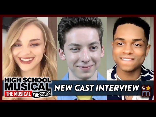 HSMTMTS Meet the New Cast: Andrew Barth Feldman, Olivia Rose Keegan & Roman Banks Talk Season 2