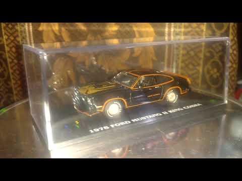 Ford Mustang II king cobra 1978 black 1/43 Greenligth acrilic