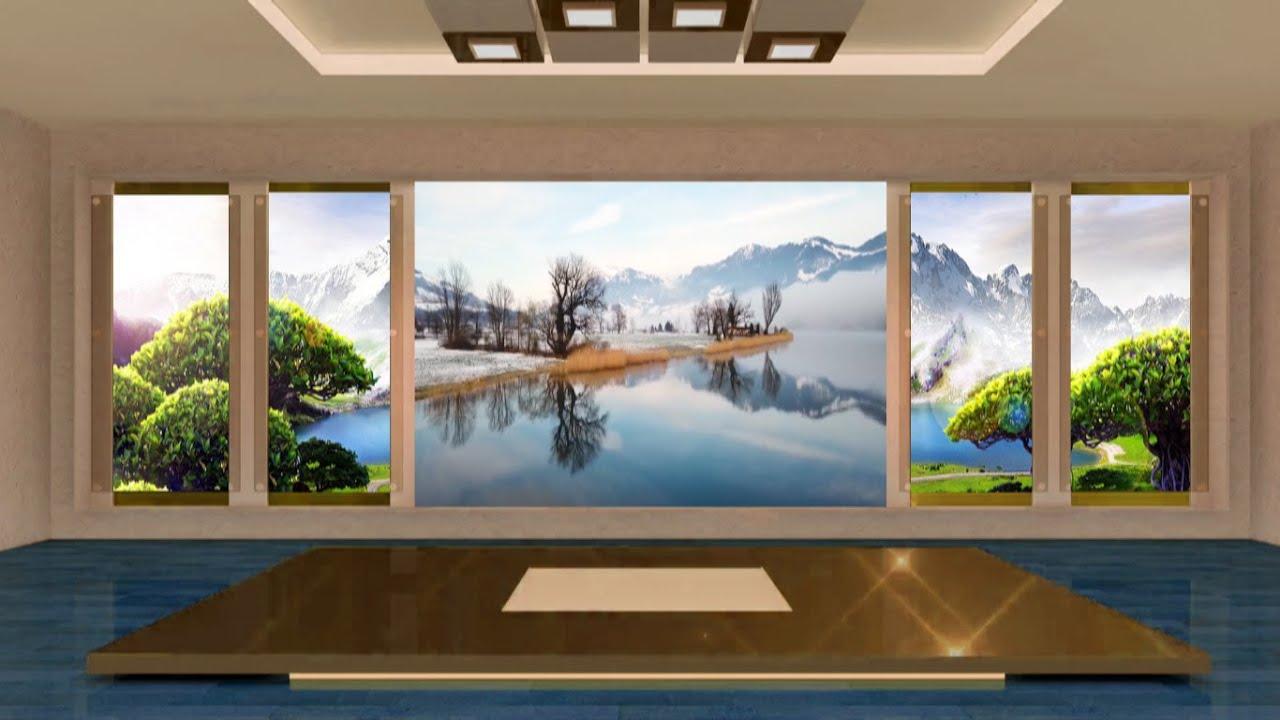 Awesome Virtual Studio Set, Virtual Studio Background Free