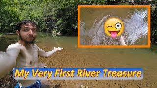 FOUND RIVER TREASURE while LAUNCHING CRAZY FIREWORKS