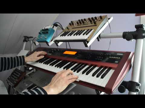 Korg Karma song The 6th of April 2018 with Korg Monologue