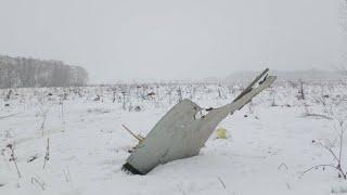 В Подмосковье разбился Ан-148