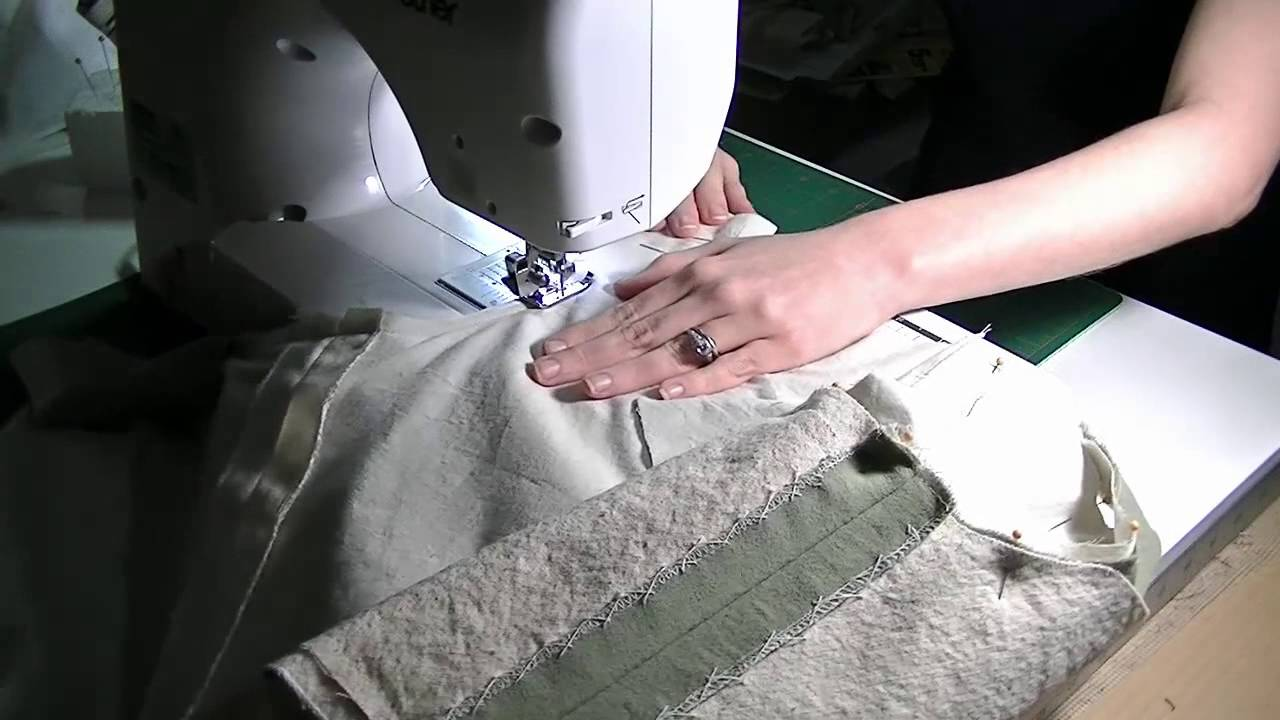 Elizabethan Kirtle Construction: Sewing in the Lining