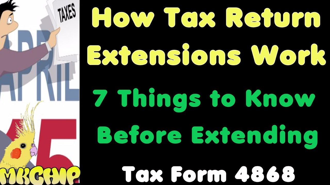 How Do Tax Return Extensions Work? What Happens If I Extend My Tax ...