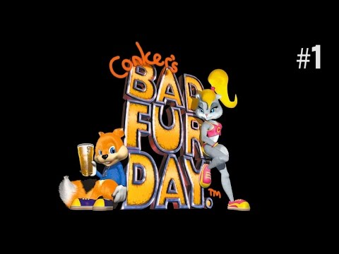 Twitch Livestream | Conker's Bad Fur Day Part 1 [Xbox One]