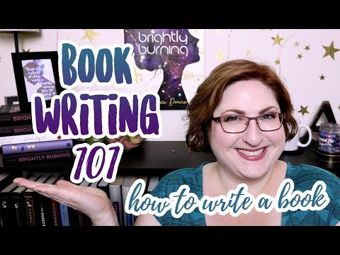 Book Writing 101! How To Write A Book